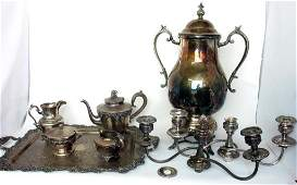 Group Lot of Silver Plate