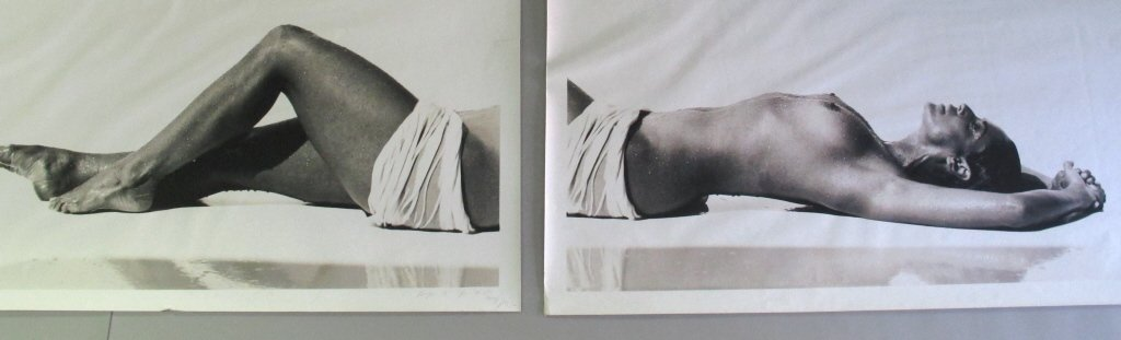 Pair of Signed Michel Comte (1954-) Prints