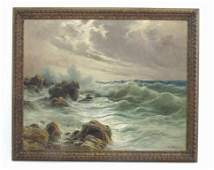 Cavalier Michele Federico (1884 - 1966) Painting