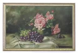 Oil on Canvas Floral Still Life