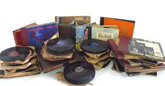 Large Collection of Vinyl Records