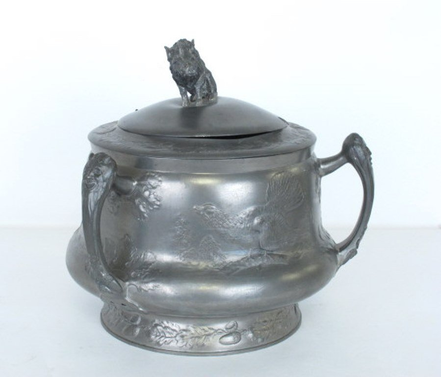 Kayserzinn Pewter Punch Bowl