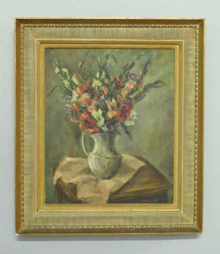 Signed Oil on Canvas Still Life