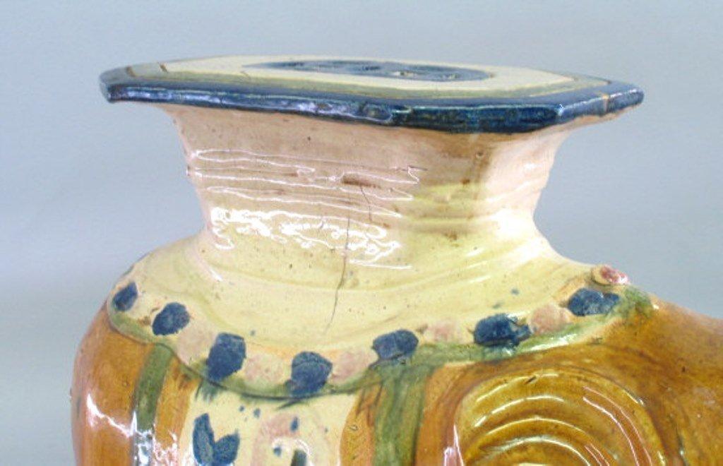 Ceramic Elephant Garden Stool Pair - 5