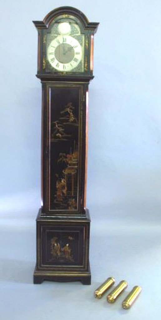 Chinoiserie Grandfather Clock