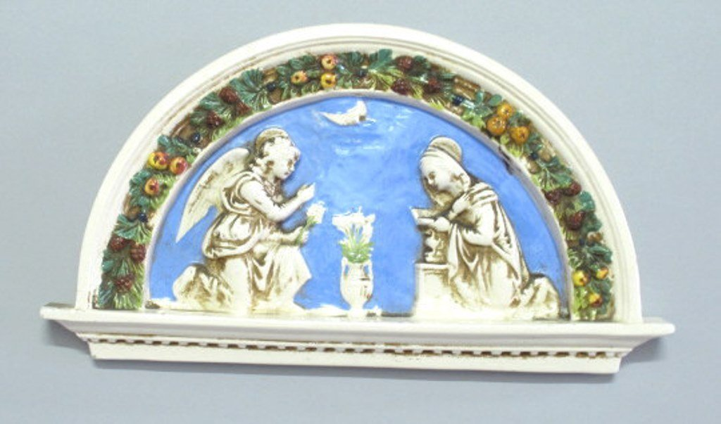Italian Painted Ceramic Decoration
