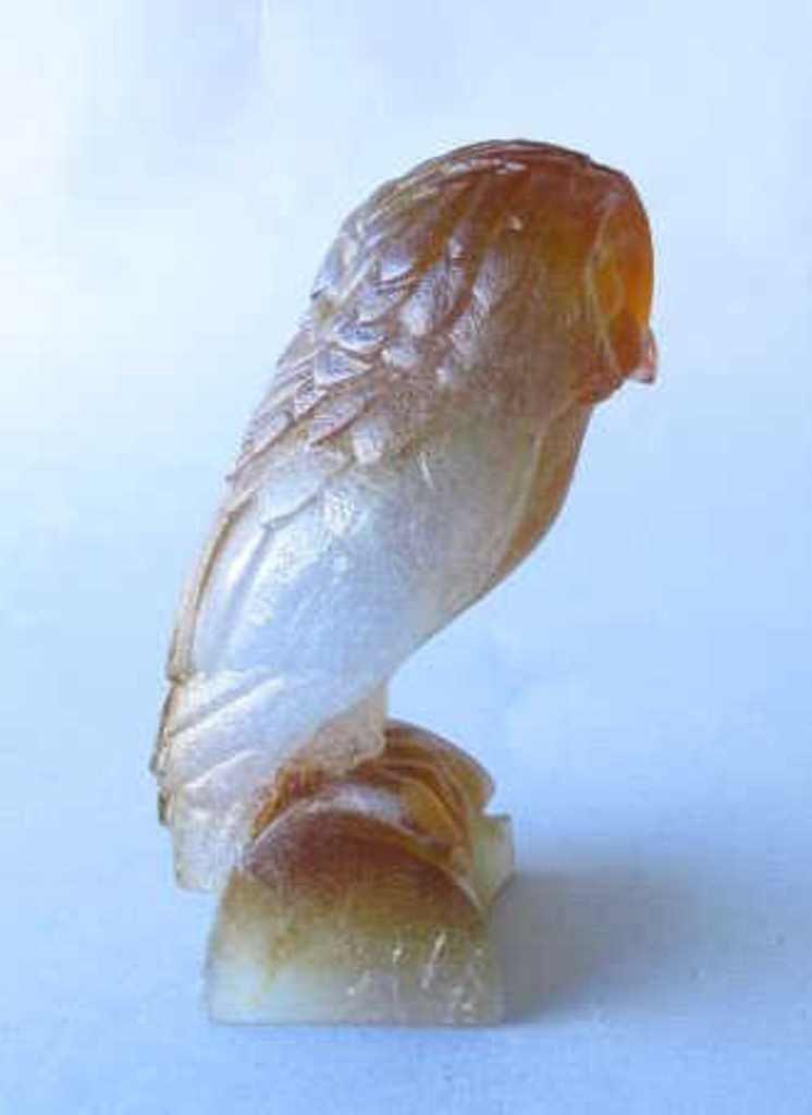 Daum France Pâte de Verre Owl Figure - 4
