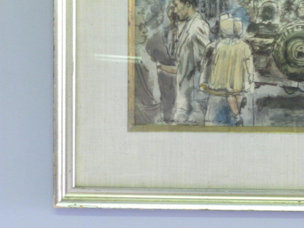 Albert Gold (1916-1972) Watercolor on Paper - 4
