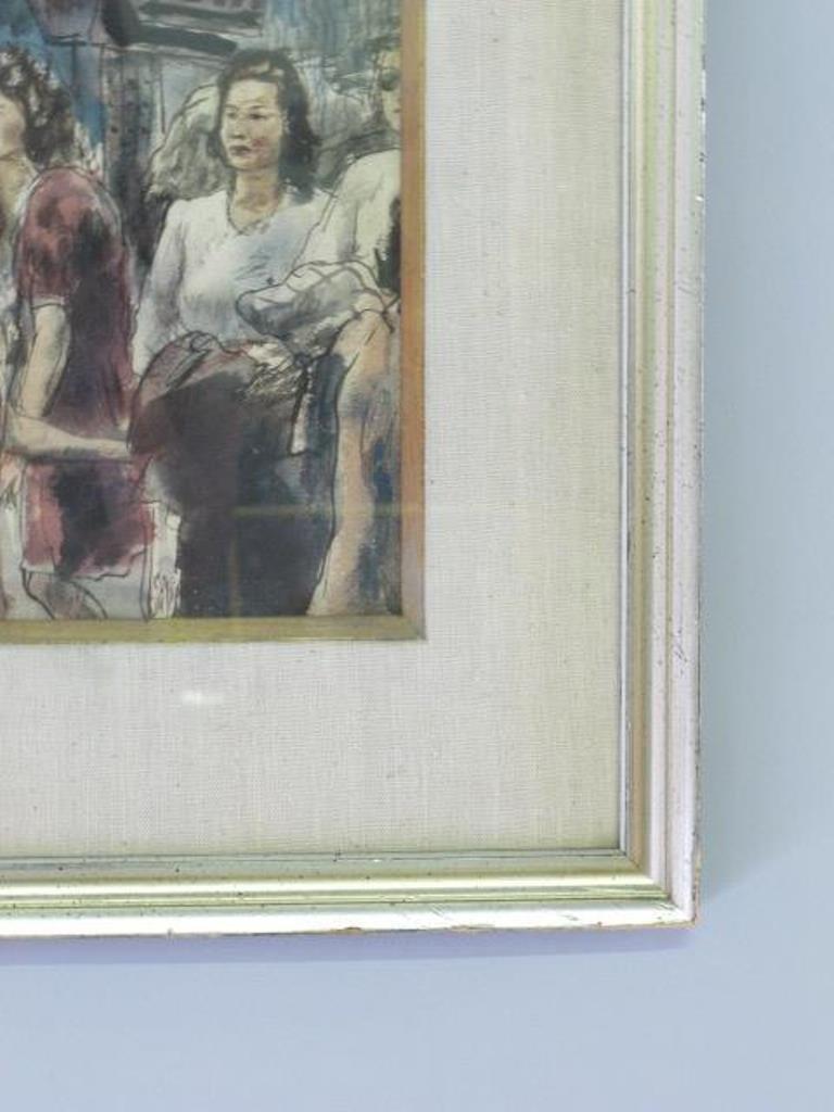 Albert Gold (1916-1972) Watercolor on Paper - 5