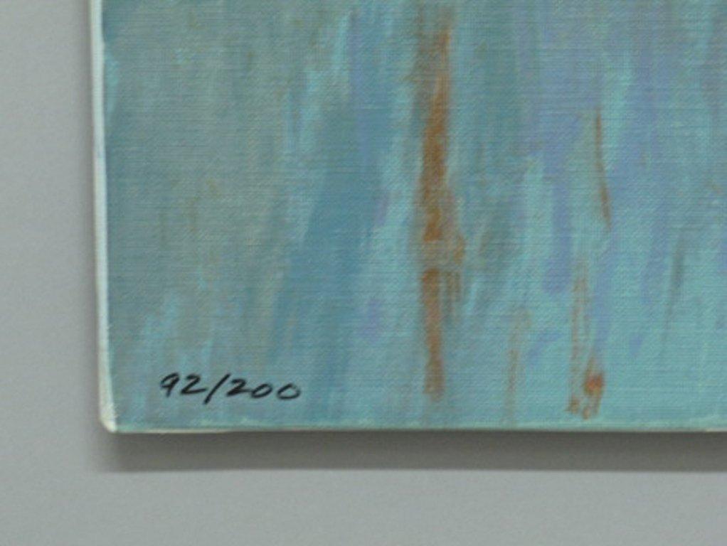 Mort Kunstler (1931) Signed Serigraph on Canvas - 6