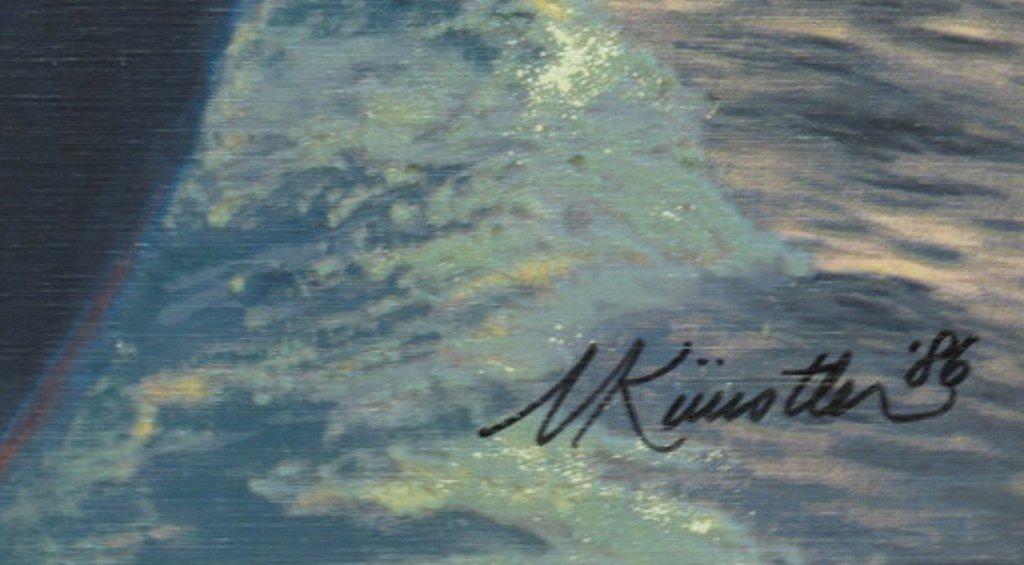 Mort Kunstler (1931) Signed Serigraph on Canvas - 7