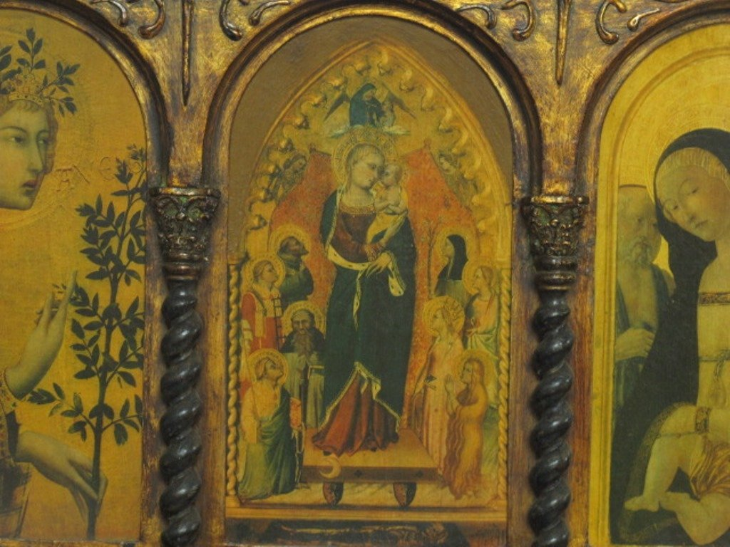 Medieval Style Triptych - 2