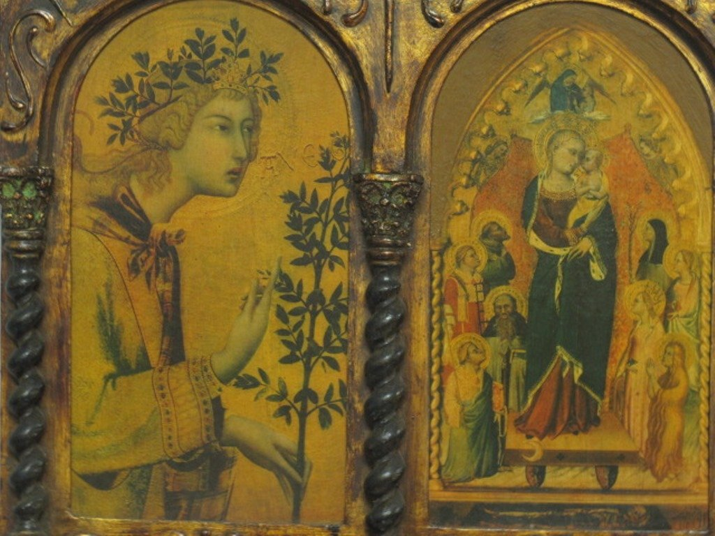 Medieval Style Triptych - 3