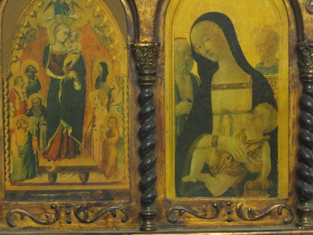 Medieval Style Triptych - 4