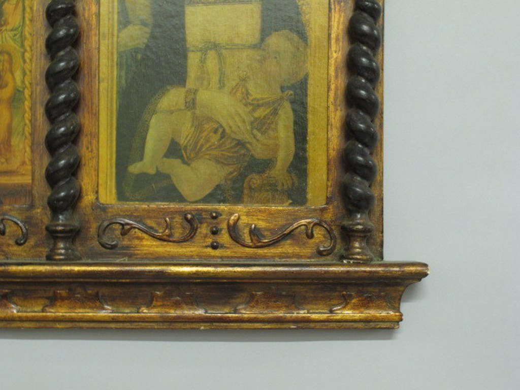 Medieval Style Triptych - 5