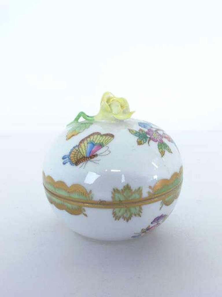 Two Herend Porcelain Containers - 5
