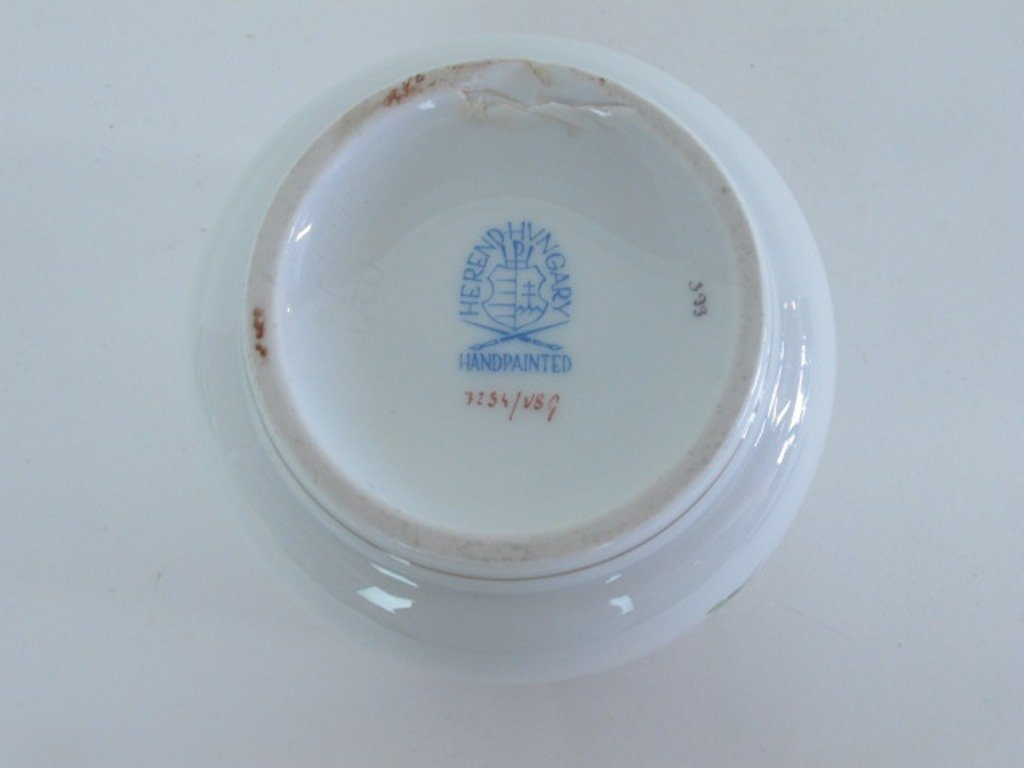 Two Herend Porcelain Containers - 8