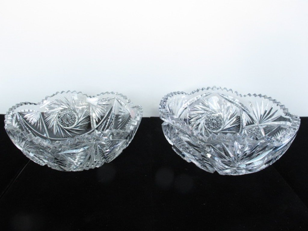 Pair of Crystal Bowls
