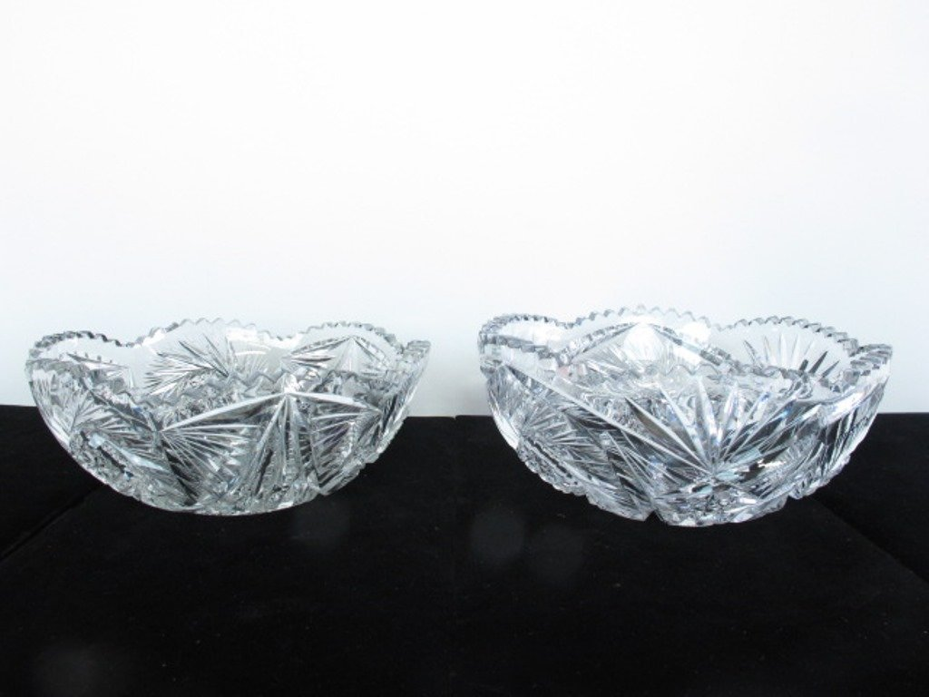 Pair of Crystal Bowls - 2