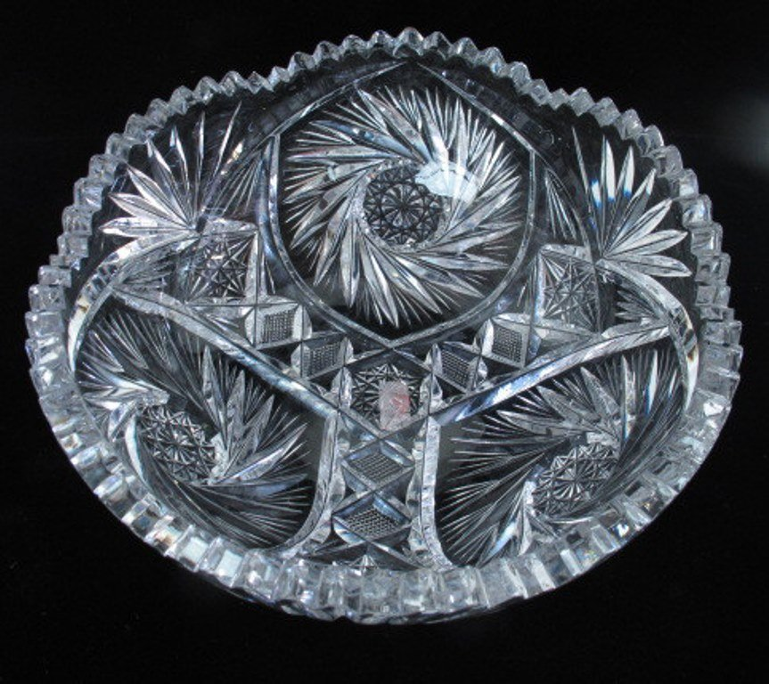 Pair of Crystal Bowls - 4