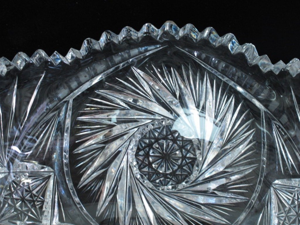 Pair of Crystal Bowls - 5