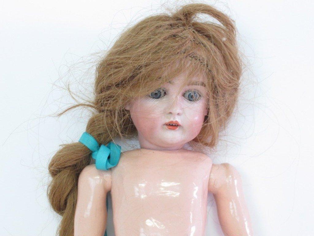 Antique Bisque Head Doll - 2