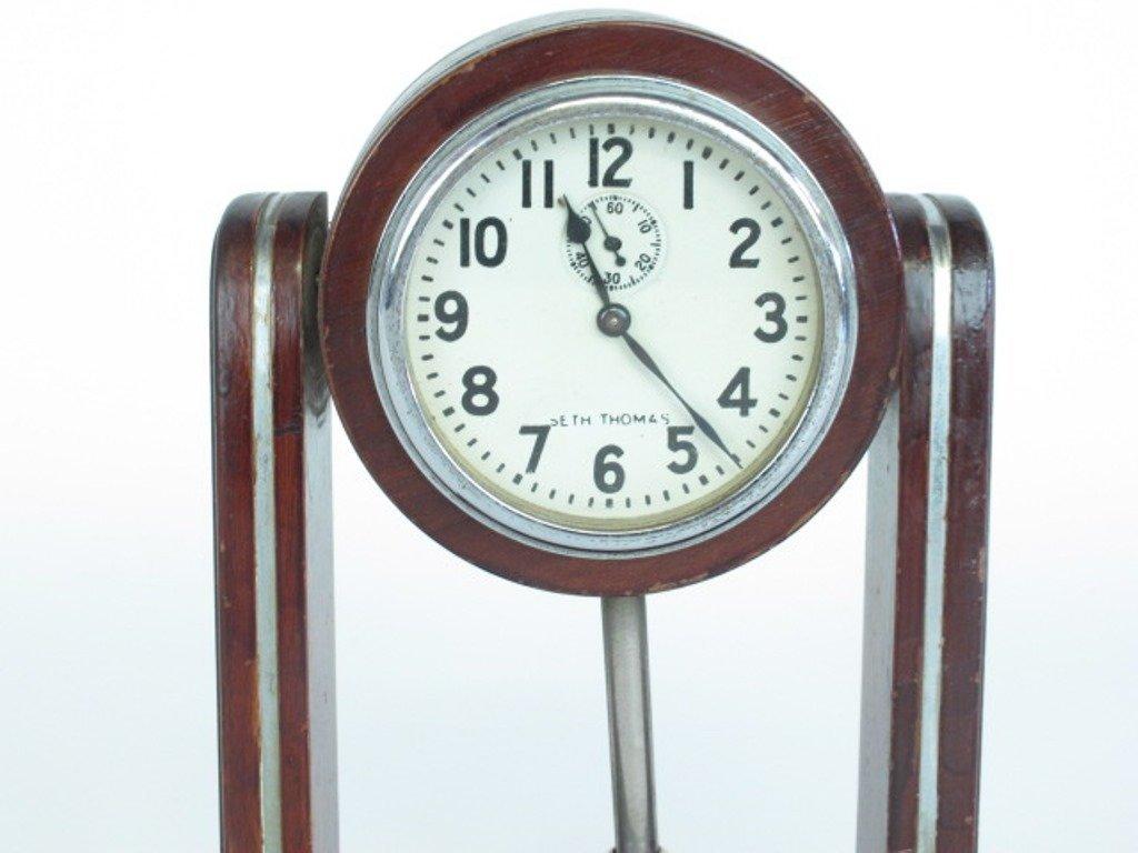 Seth Thomas Small Mantle Clock - 3