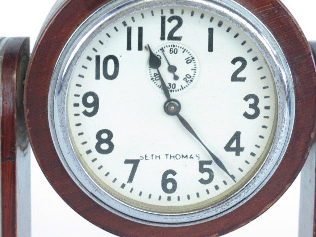 Seth Thomas Small Mantle Clock - 5