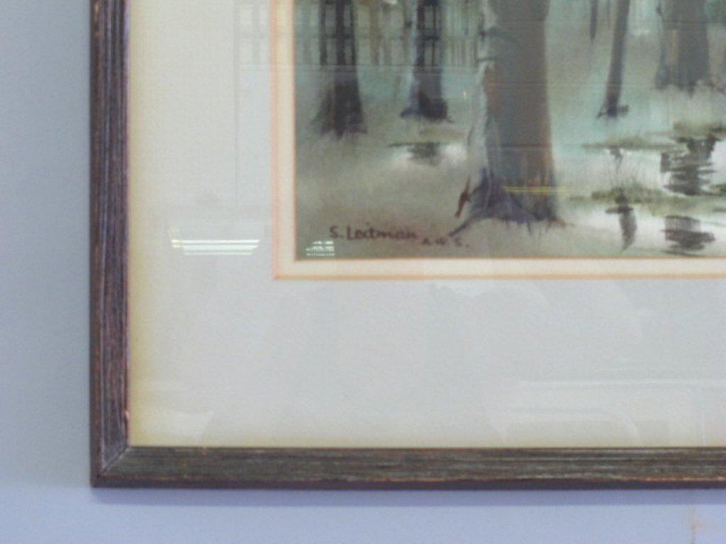 Samuel Leitman (1908-1981) Watercolor - 3