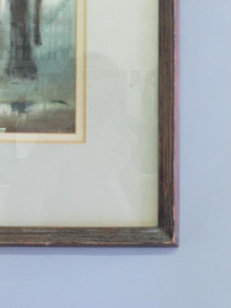 Samuel Leitman (1908-1981) Watercolor - 5