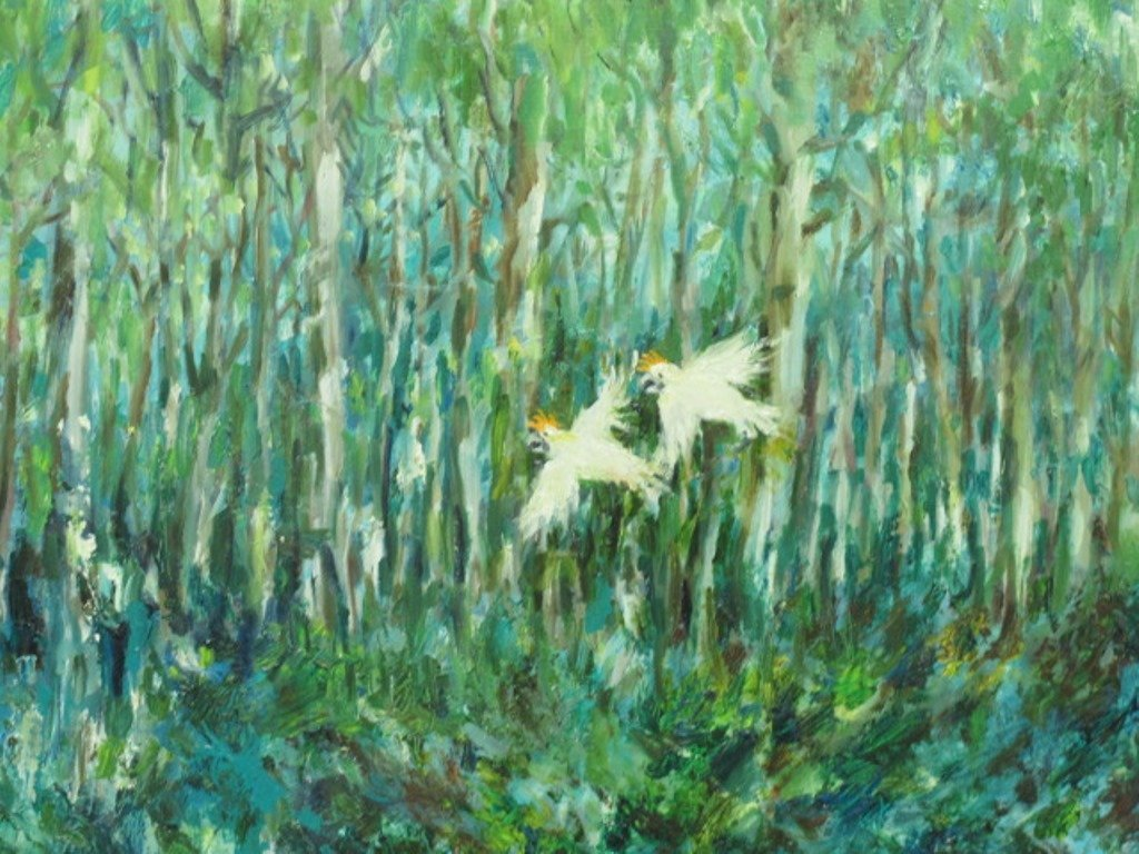 Paul Rigby (1924-2006) Oil on Panel - 2
