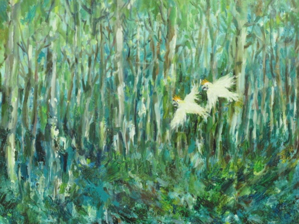 Paul Rigby (1924-2006) Oil on Panel - 3