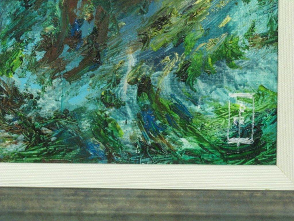 Paul Rigby (1924-2006) Oil on Panel - 6