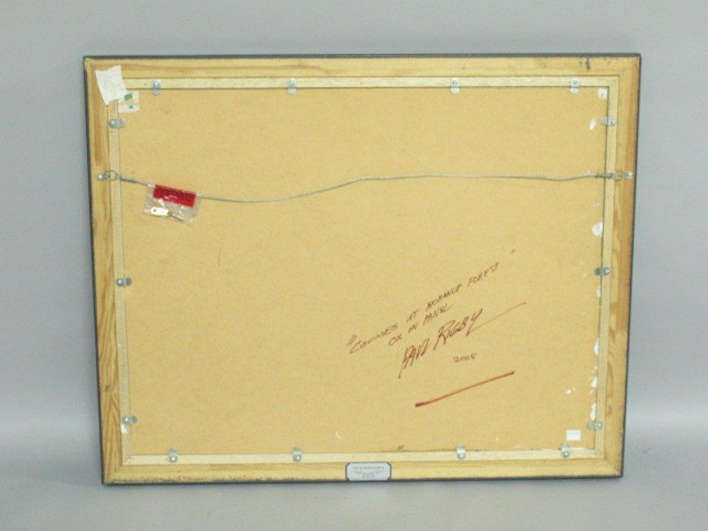 Paul Rigby (1924-2006) Oil on Panel - 8