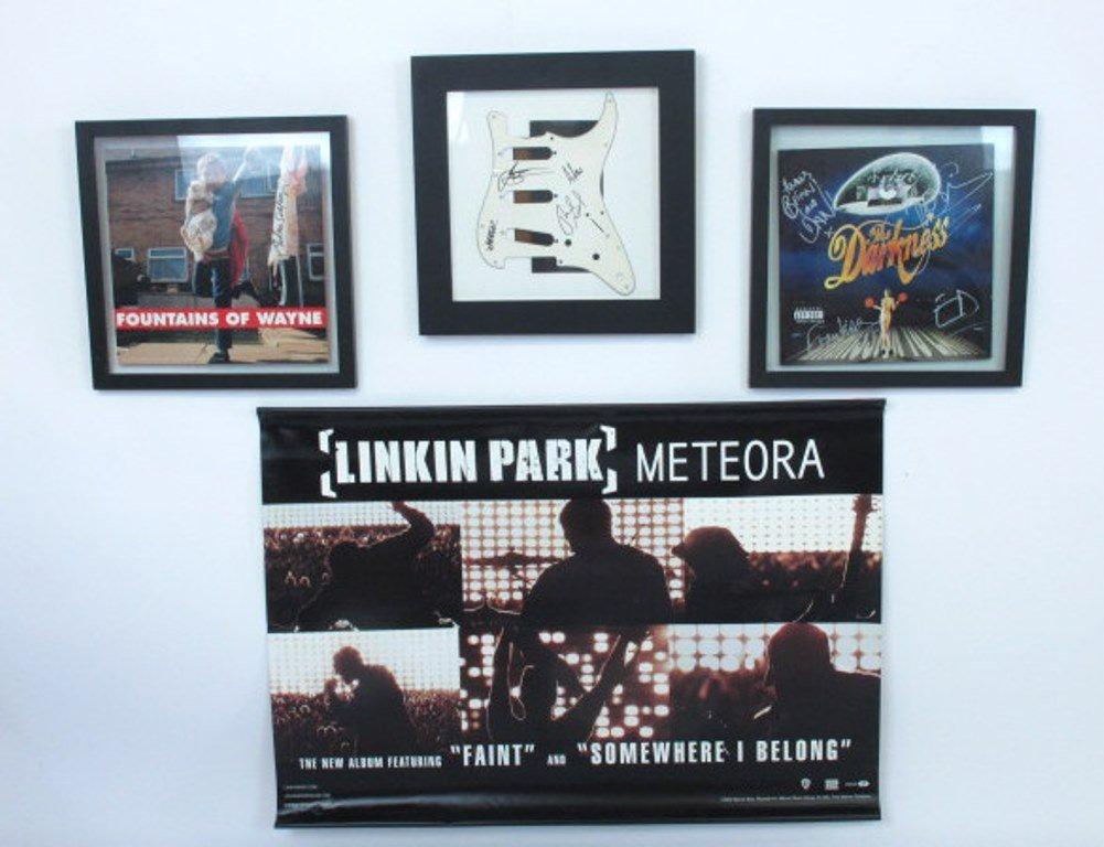 Rock Music Memorabilia Items