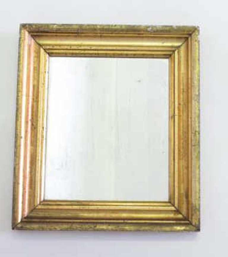 Gilt Wood Wall Mirror