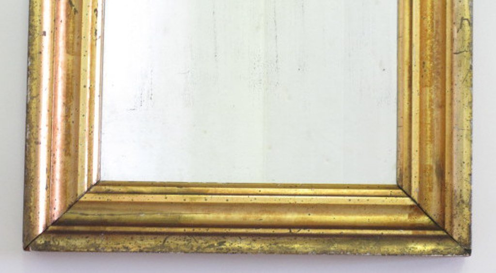 Gilt Wood Wall Mirror - 2