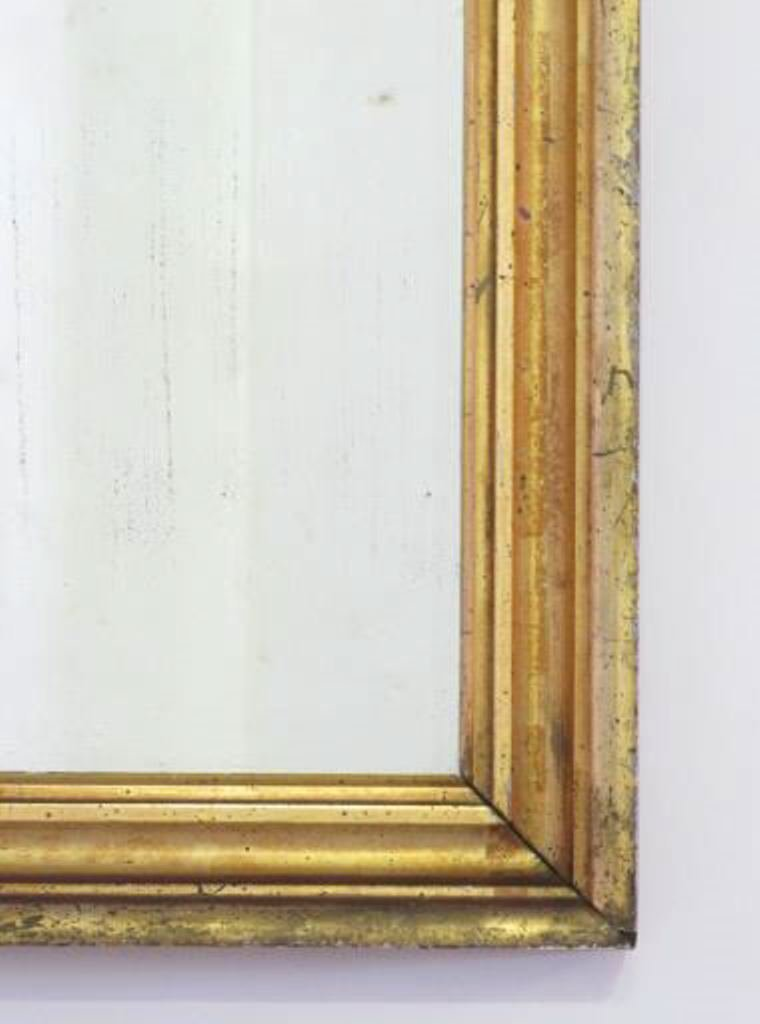 Gilt Wood Wall Mirror - 3