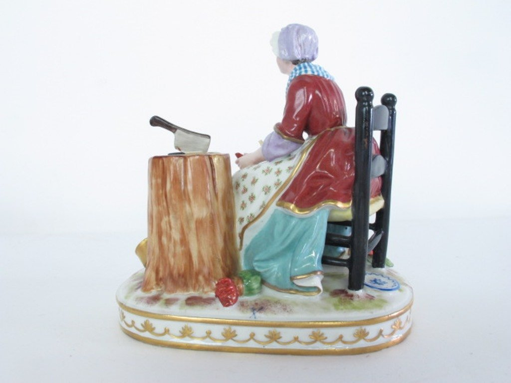 Group of Three Porcelain Figurines - 8