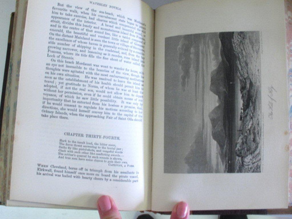 Antique Waverley Novels Collection - 4