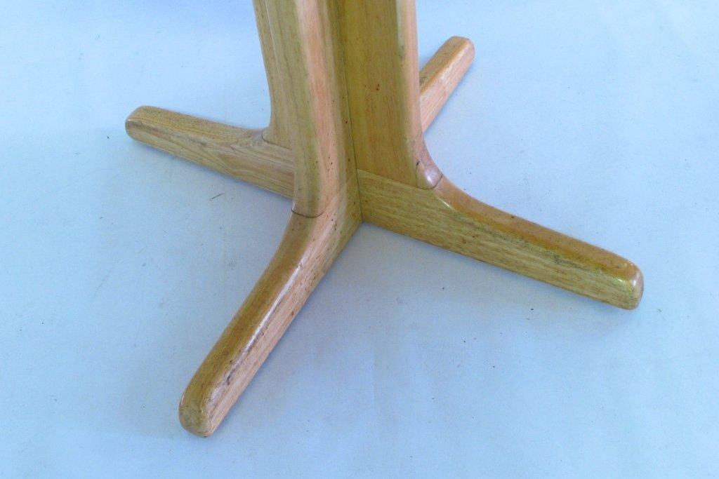 Drop Leaf Oak Table - 5