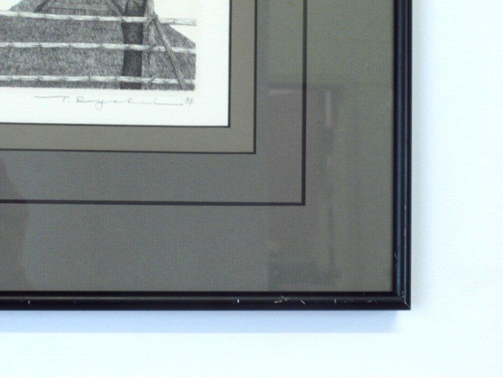 Tanaka Ryohei (1933-) Signed Etching - 4