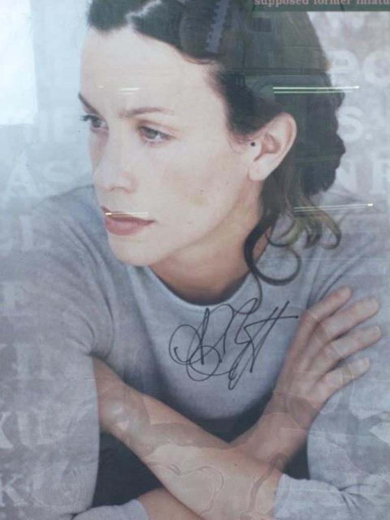 Alanis Morissette Autographed Poster Pair - 10