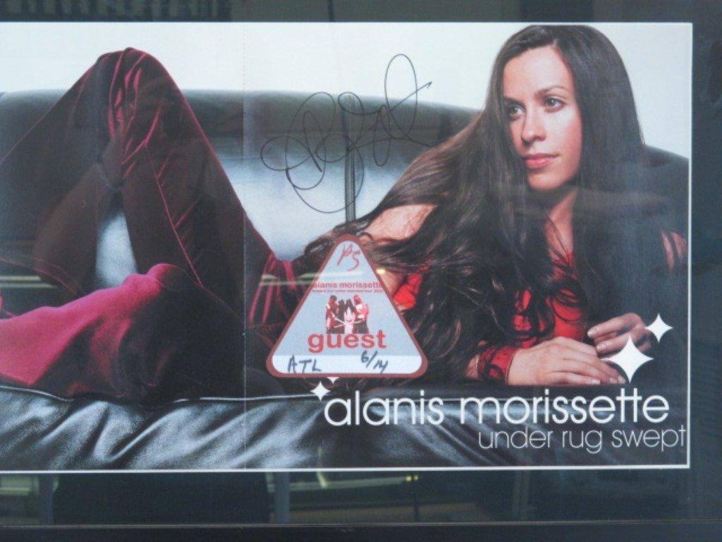 Alanis Morissette Autographed Poster Pair - 3