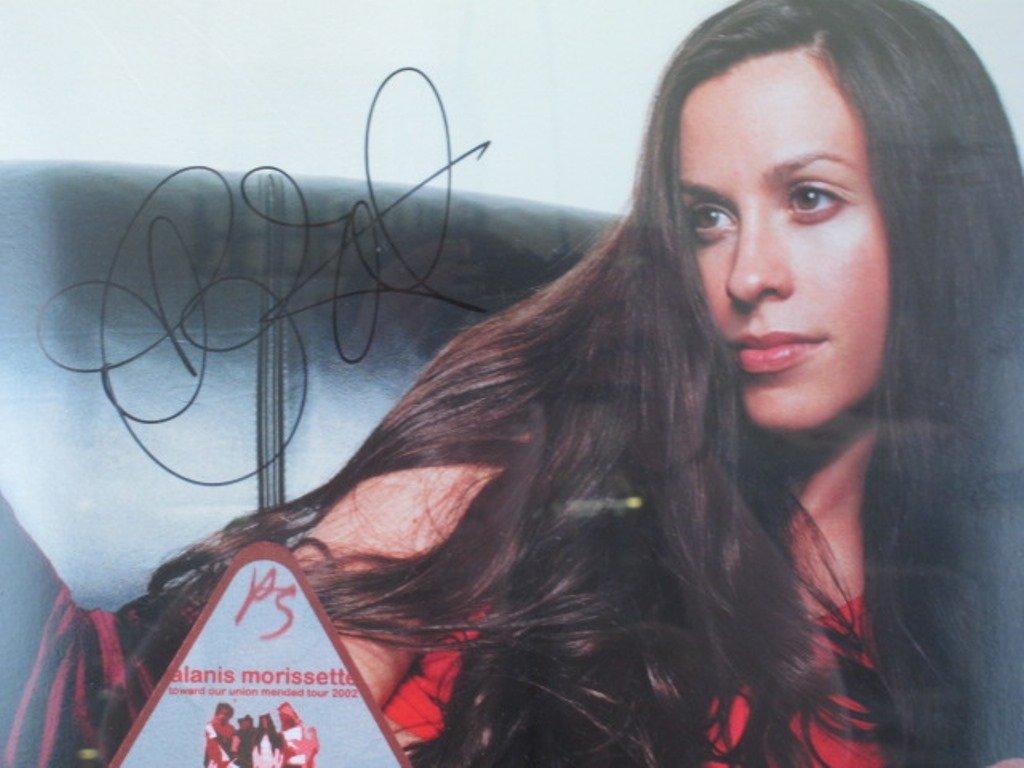 Alanis Morissette Autographed Poster Pair - 4