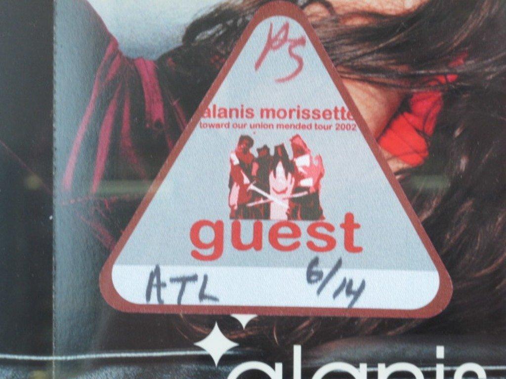 Alanis Morissette Autographed Poster Pair - 6