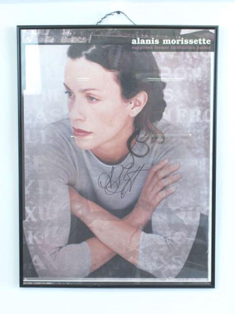Alanis Morissette Autographed Poster Pair - 9
