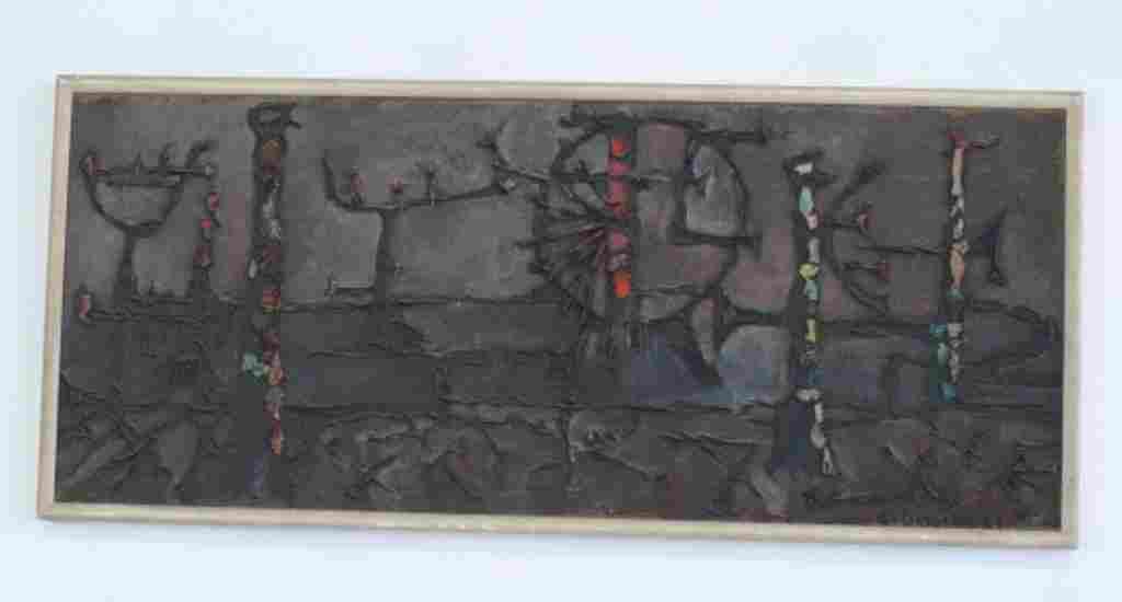 Mixed Media Artwork on Canvas