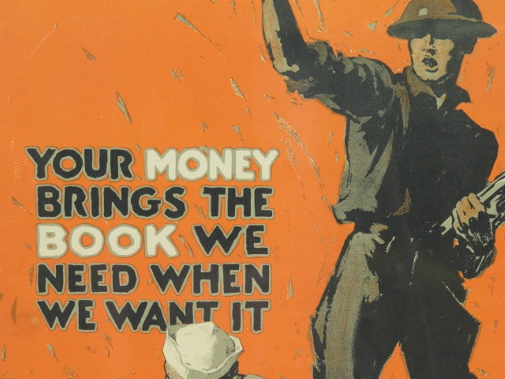 World War One Books for Soldiers Poster - 3