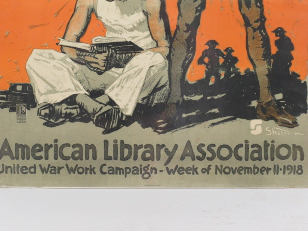 World War One Books for Soldiers Poster - 4